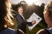 Sam Goddard: The real estate director also a women's AFL coach
