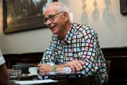A coffee with Dr Karl
