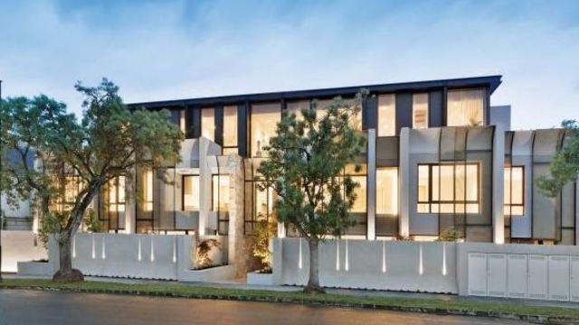 The Toorak penthouse that just smashed a price record