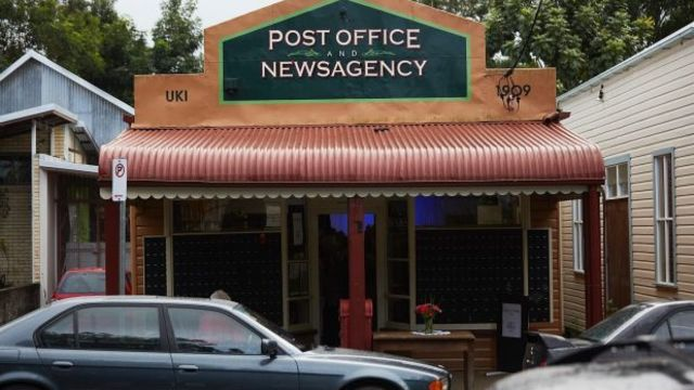 Does this small town have Australia's coolest post office?