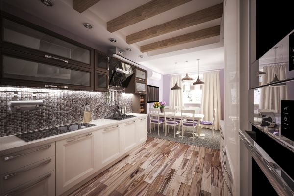 Commercial-grade kitchens at home