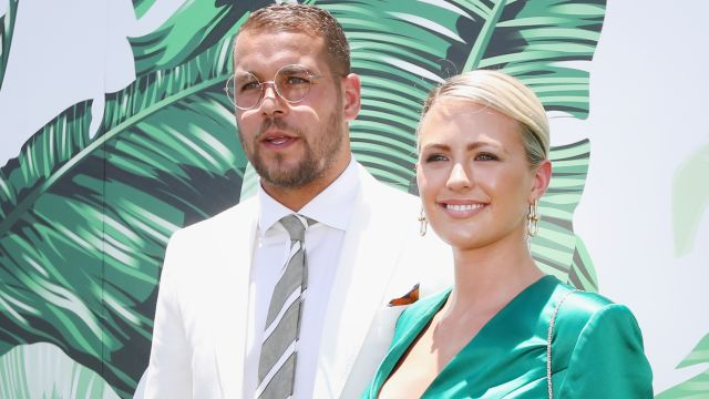 Jesinta and Buddy Franklin hoping to score property goals