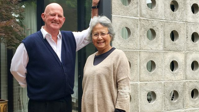 Married for 49 years, Tim and Mariam live apart and together simultaneously