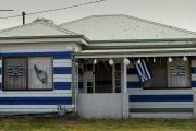 Showing your true colours: When footy passion makes you paint your home