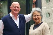 Married for 49 years, how Tim and Mariam live apart and together simultaneously