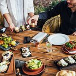 How to throw the perfect outdoor dinner party – without a garden