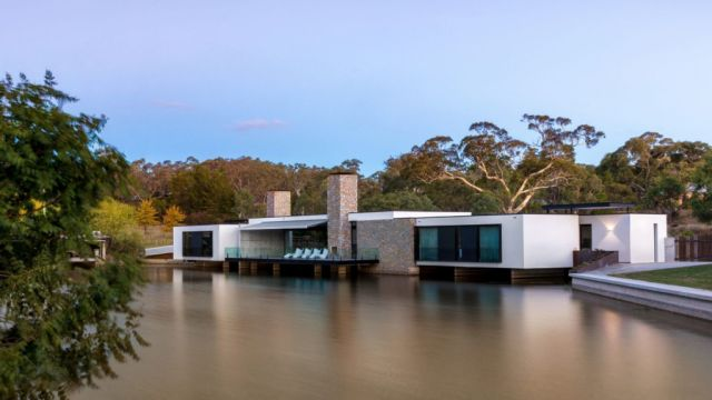 'Water literally flows underneath': Is this house Australia's most beautiful?