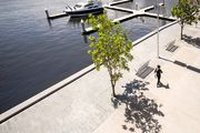 A new 'close-knit' community on Melbourne's waterfront