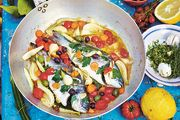 Jamie Oliver's recipe: fish in crazy water