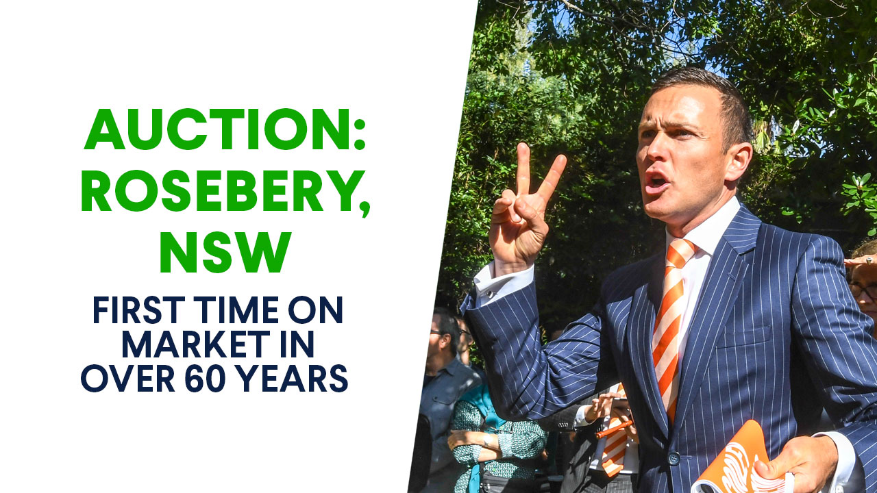 Auction: Rosebery, NSW