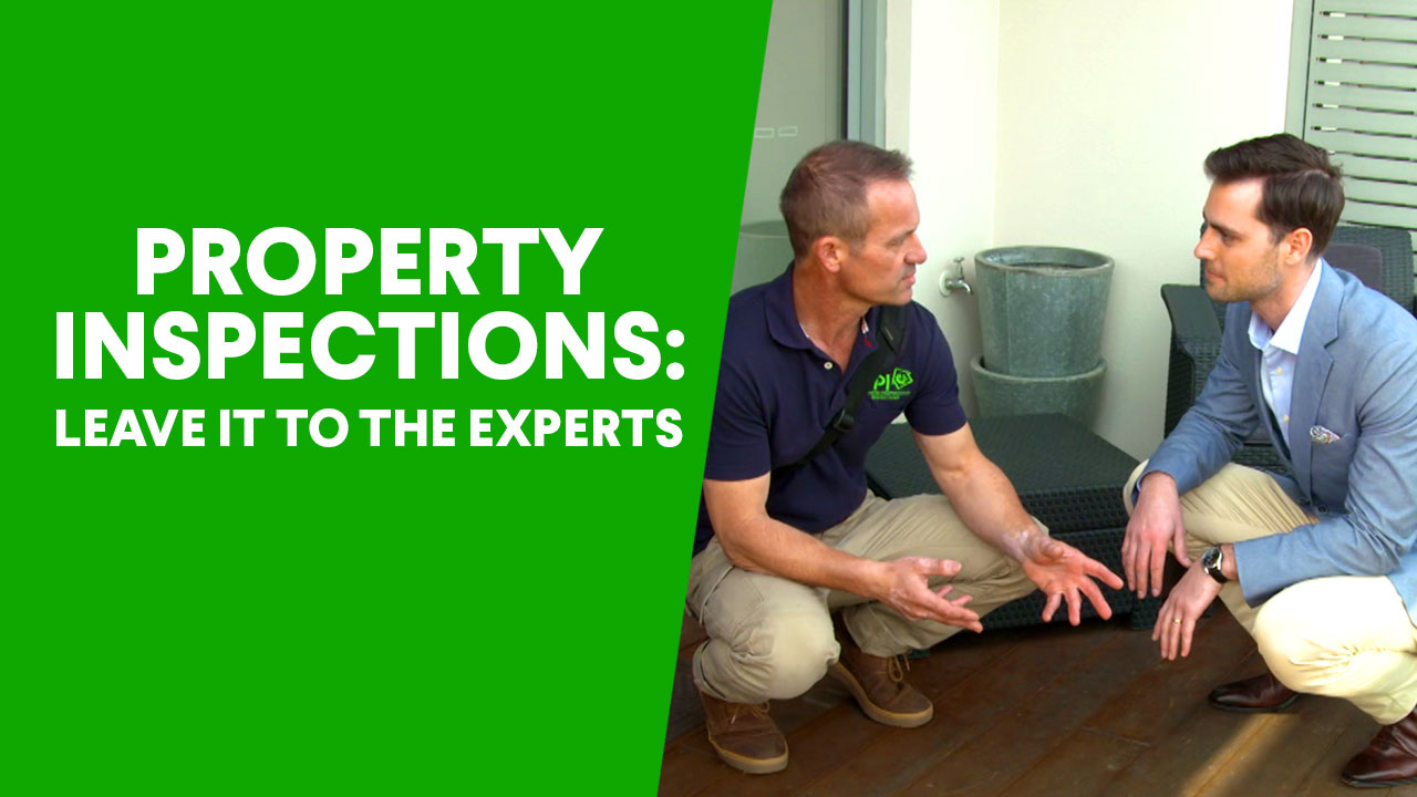 Inspecting a home
