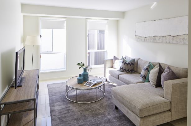 Homes with bigger floor plans can fit additional living areas.