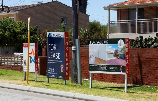 For sale for lease generic signs Perth