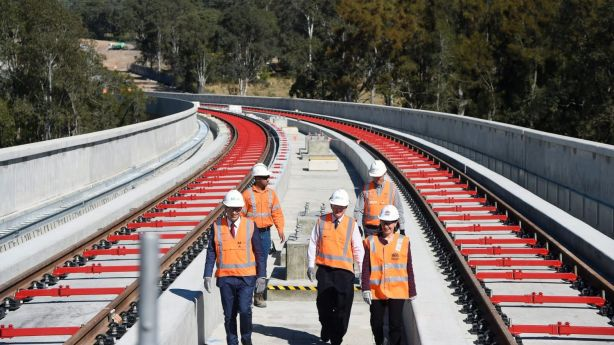 The first stage of the Sydney Metro is due to open in early 2019, with trains to run every four minutes during peak hour. Photo: AAP