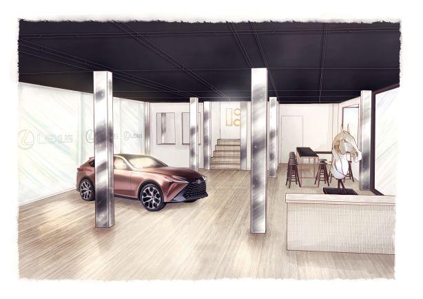 Lexus Pavilion, Ground Floor, 'The Gallery'