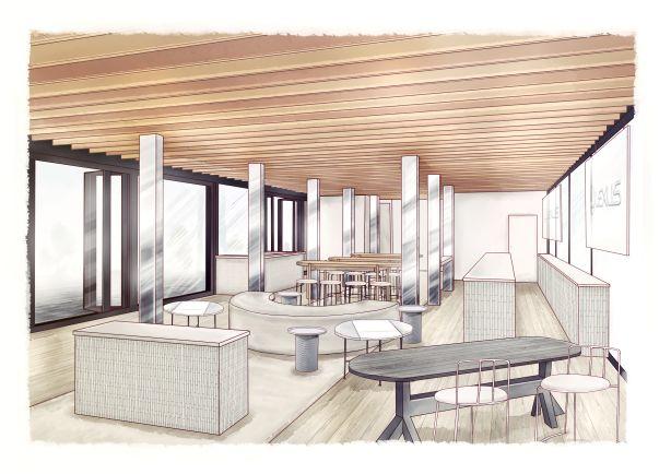 Lexus Pavilion, Level One