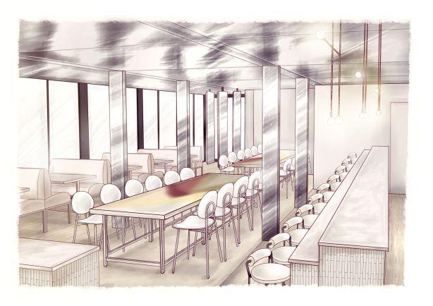 Lexus Pavilion, Level Two, Dining Room
