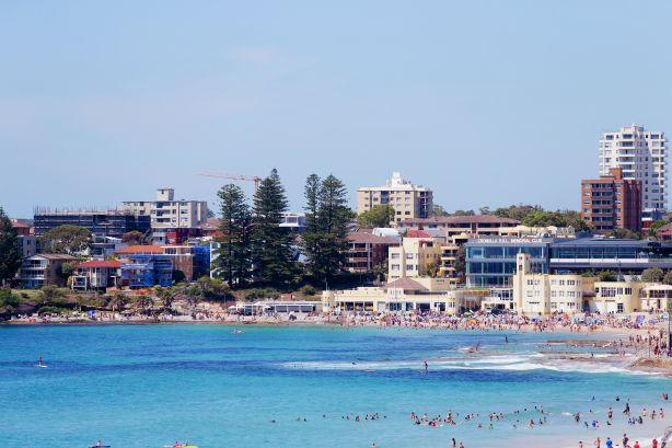 The Sydney suburb of Cronulla