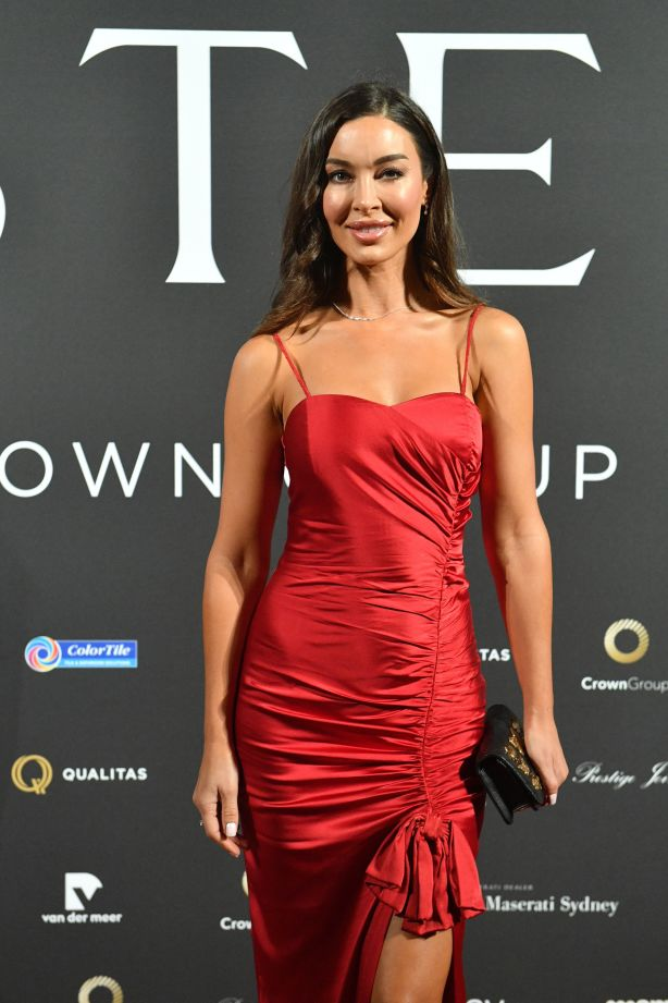 Laurina Fleure at a Sydney event celebrating Mastery by Crown Group NOT FOR REUSE