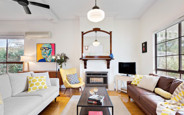 This three bedroom house in Maidstone is quoted at $845,000. Photo: Hocking Stuart
