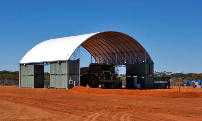 Shipping Container Shed - DomeShelter Australia
