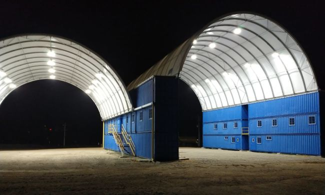 Grupo Prodeco Fabric Structure