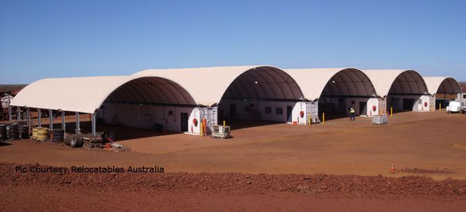 Series of DomeShelters in Australia