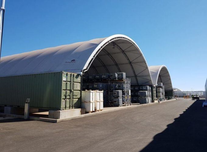 Fabric Structures as alternatives to steel buildings