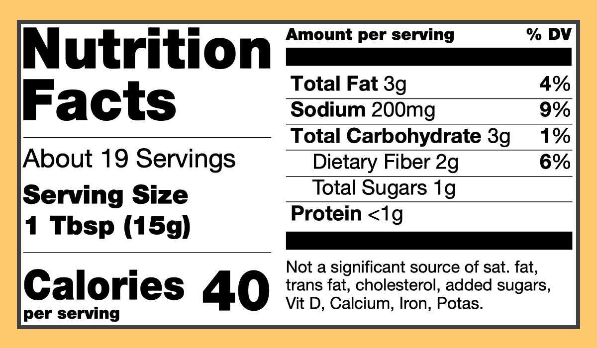 Nutritional biryani curry spice paste