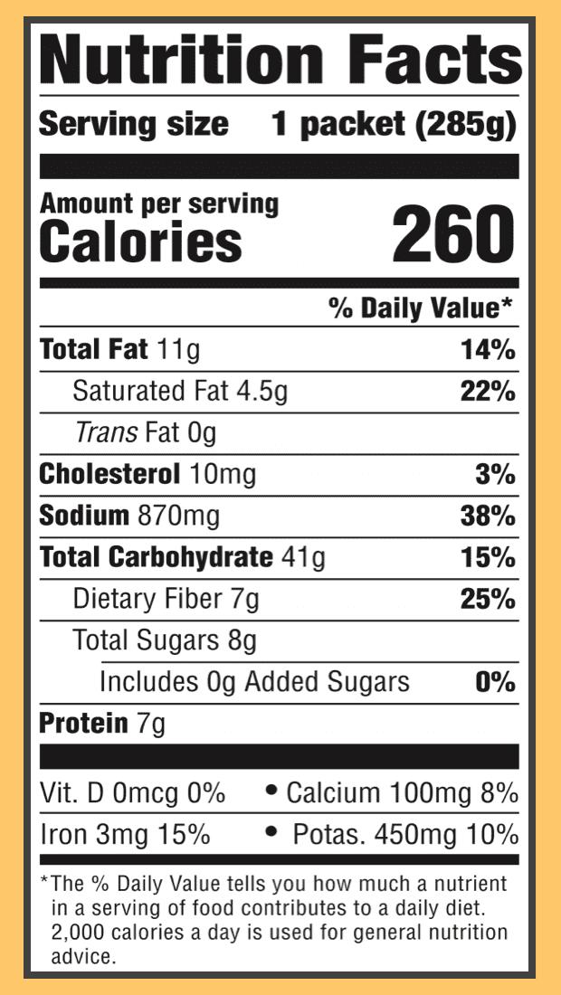 Nutritional butter chickpeas veggies 2x
