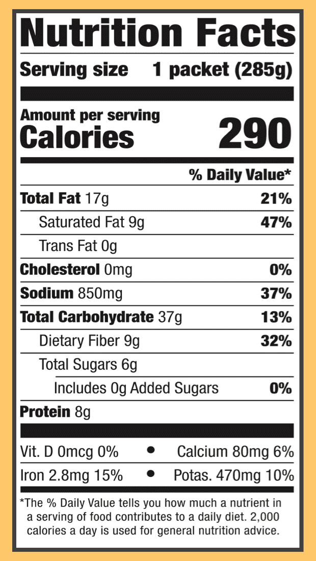 Nutritional chickpea veggie korma 2x