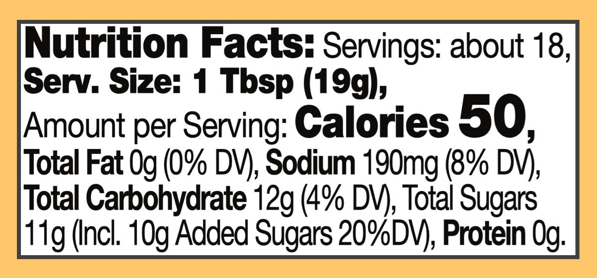 Nutritional hot mango chutney