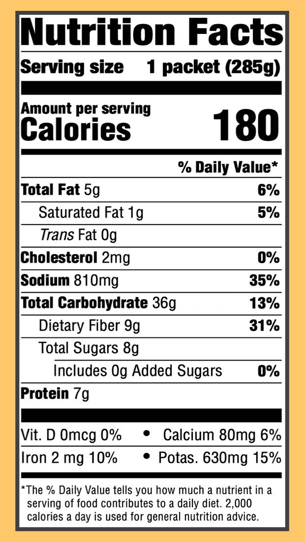 Nutritional lentil veggie tikka masala 2x