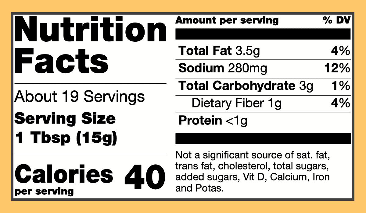 Nutritional madras spice paste