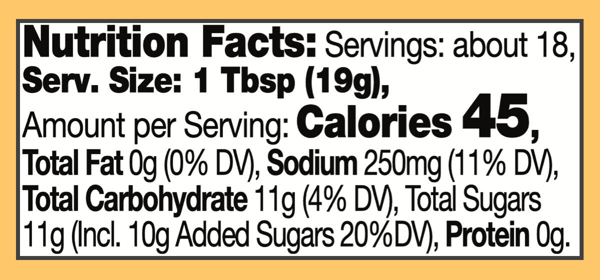 Nutritional major grey chutney