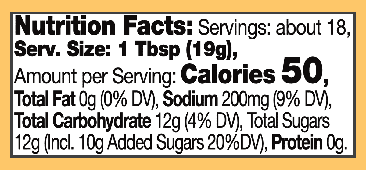 Nutritional sweet mango chutney