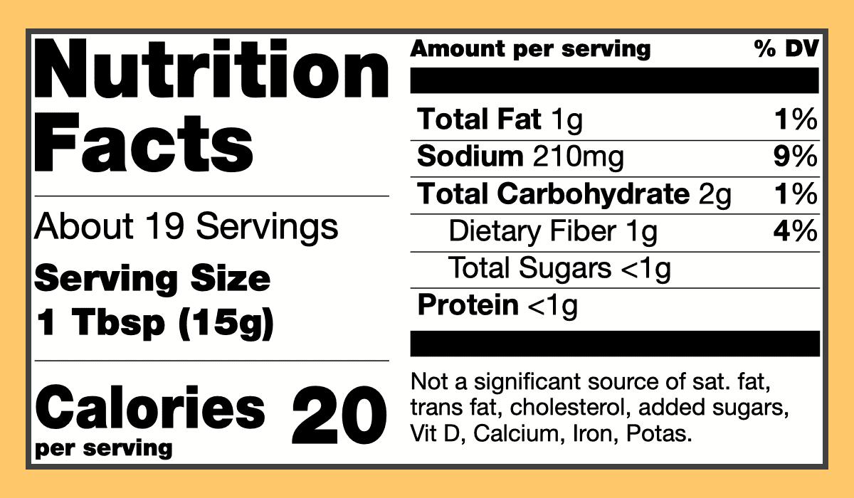 Nutritional tikka masala marinade spice paste