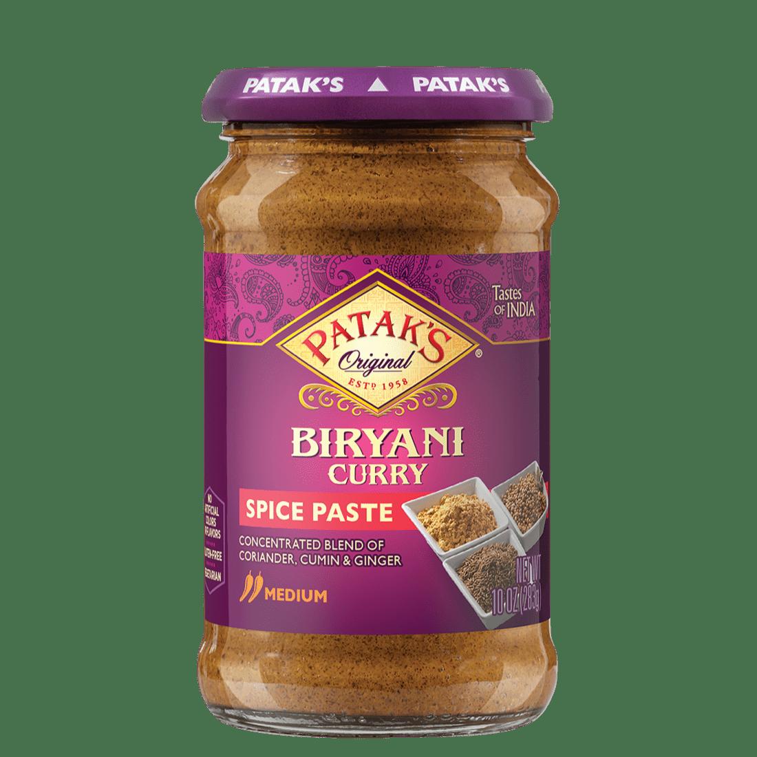 Biryani curry spice paste 2x