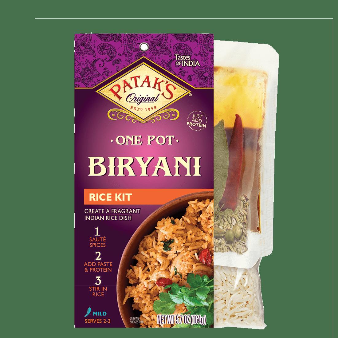 Biryani one pot rice kit 2x