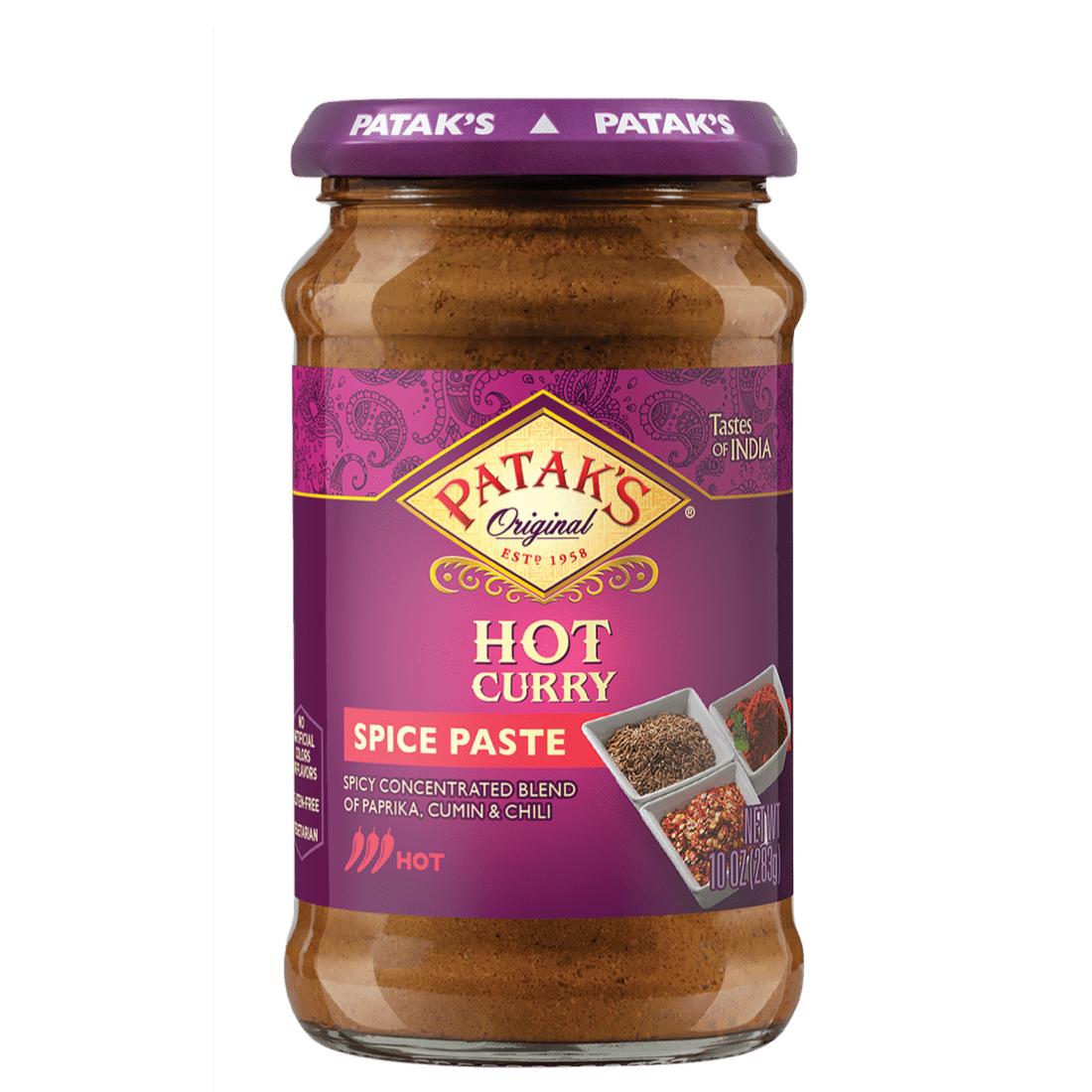 Hot curry spice paste 2x
