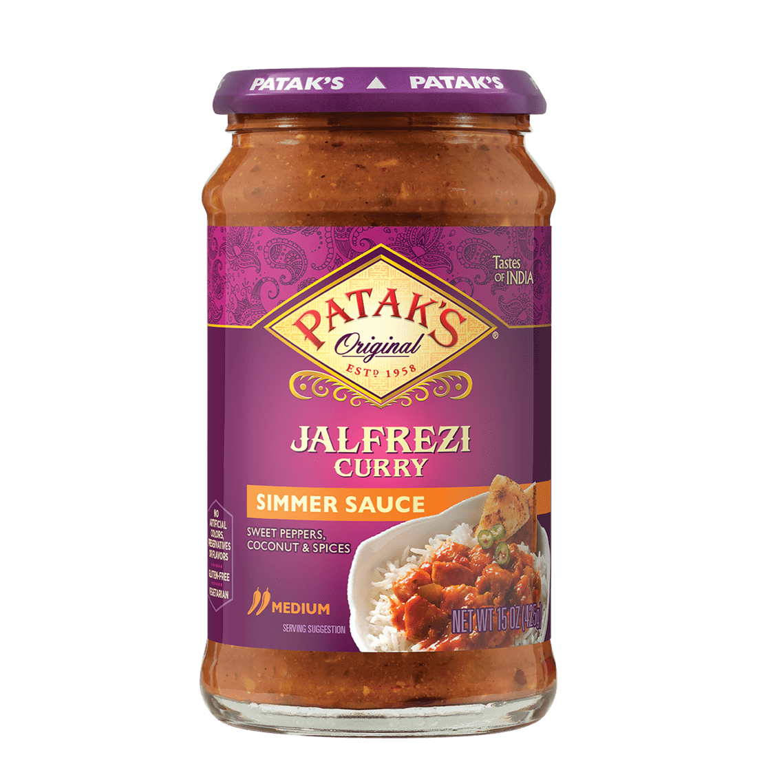 Jalfrezi curry sauce 2x