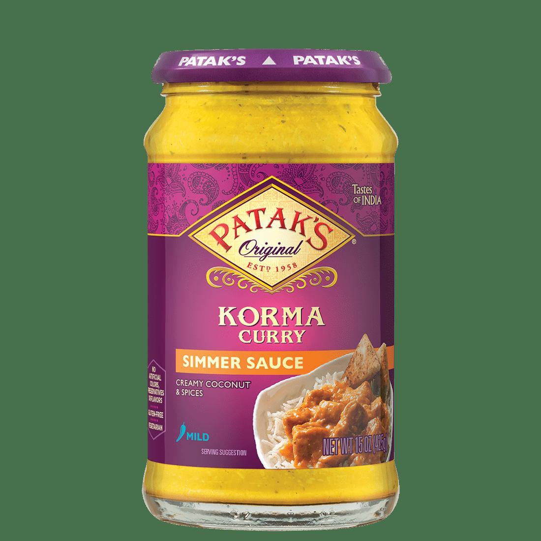 Korma curry sauce 2x