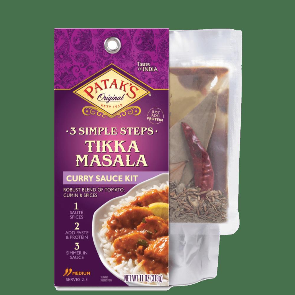 Tikka masala 3 step sauce kit 2x