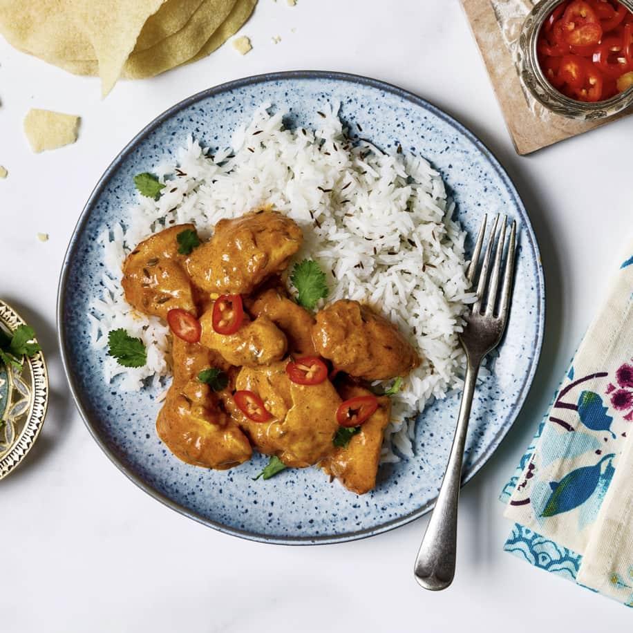 Hot Chicken Curry Recipe