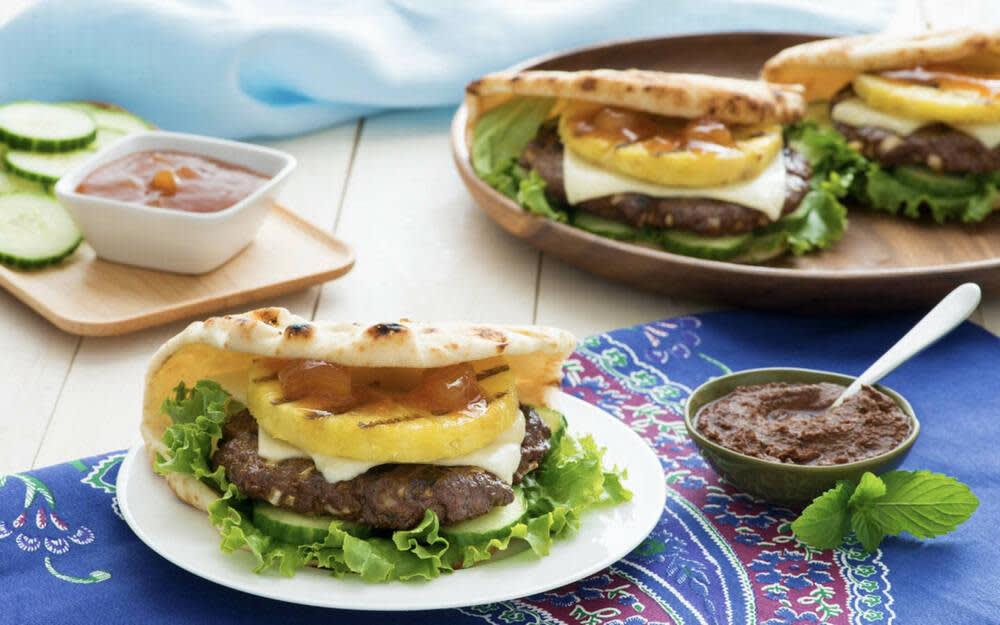 Grilled Madras Burger Recipe