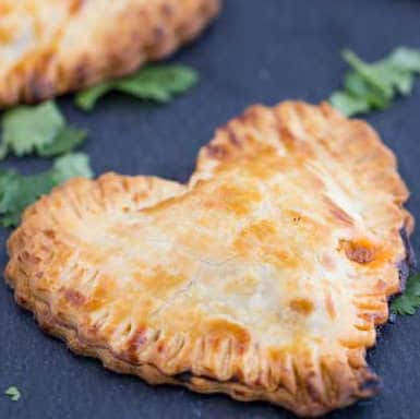 Butter Chicken Hand Pies Recipe