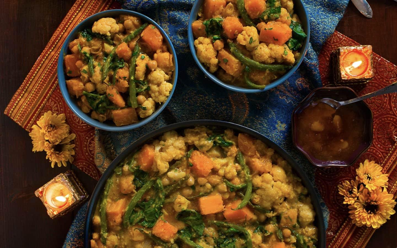 Chickpea and Butternut Squash Curry Recipe