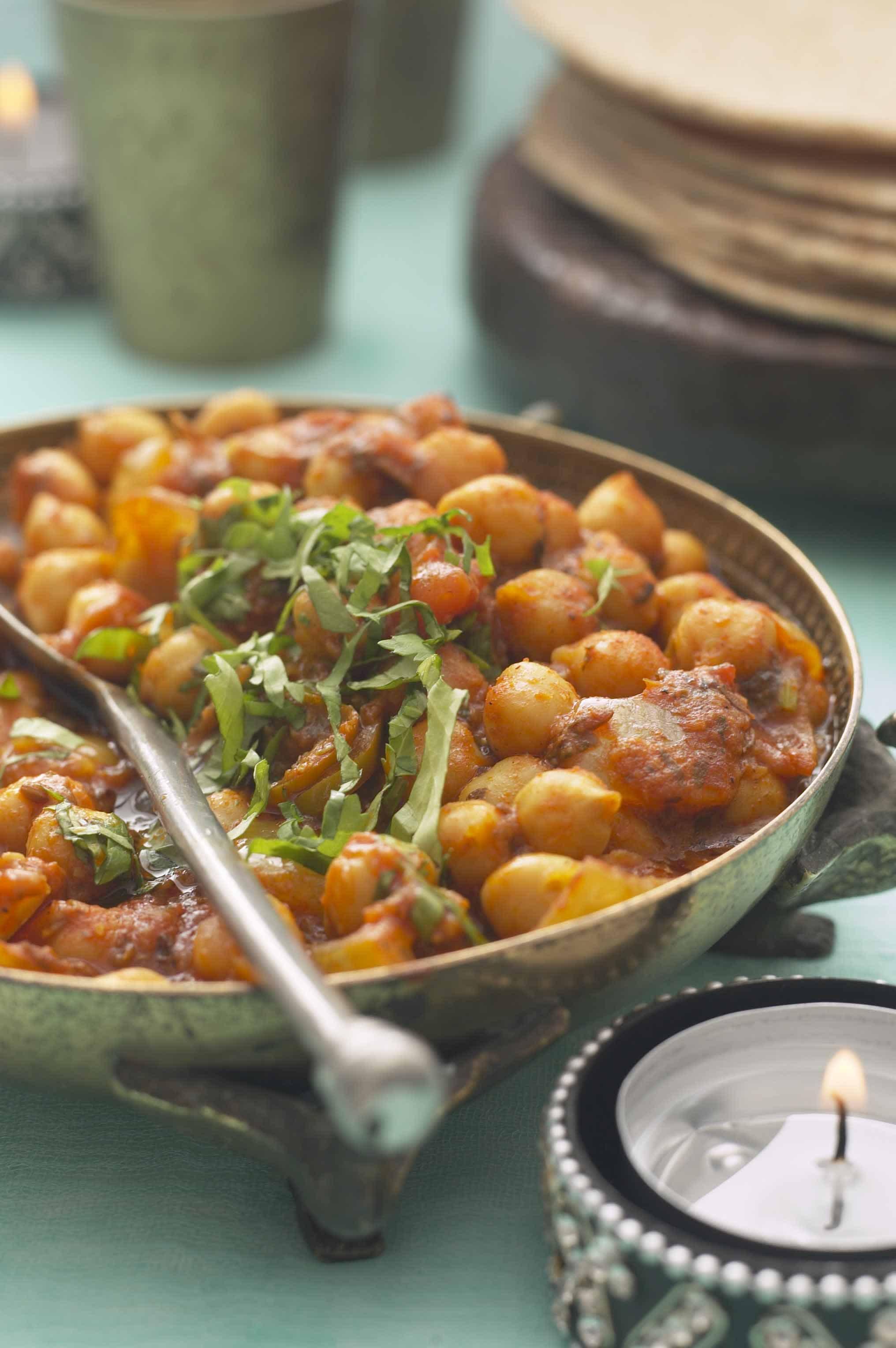 Tikka Masala Chickpea Curry Recipe