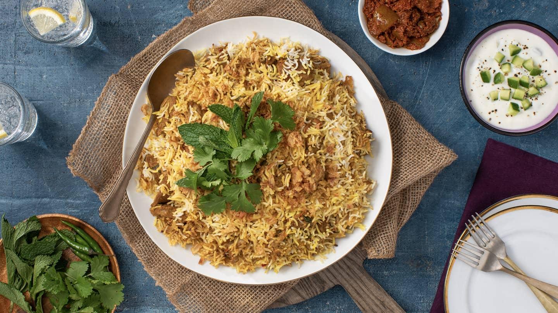 Hyderabadi Lamb Biryani Recipe
