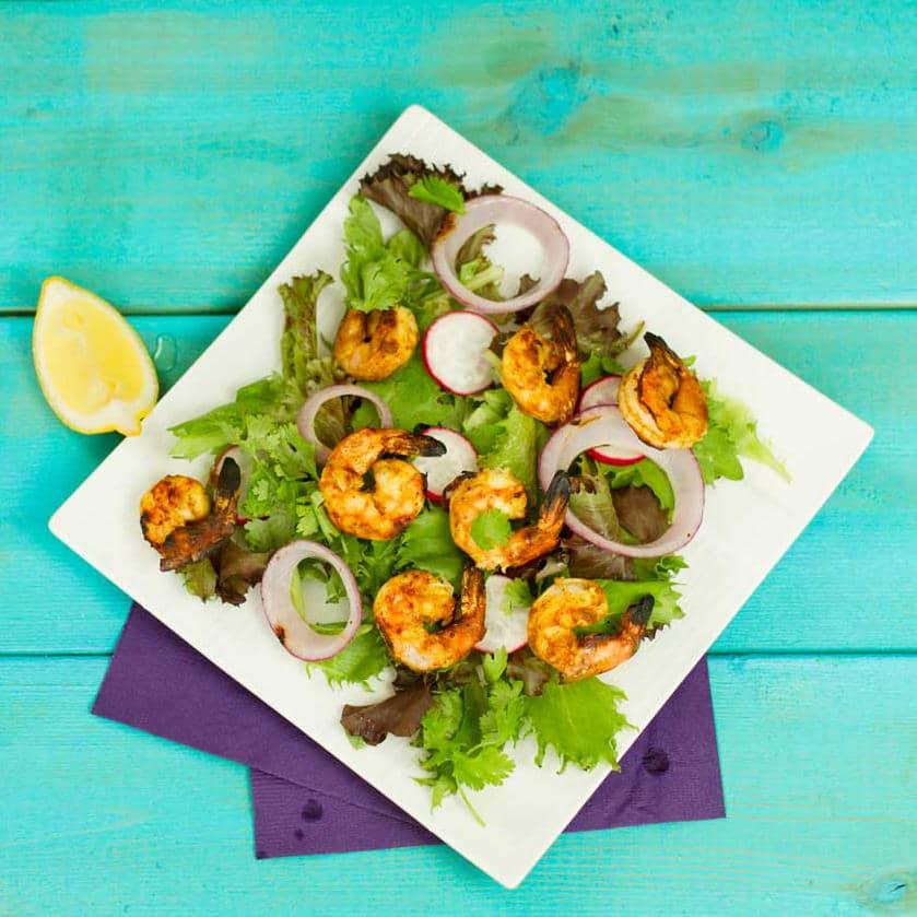 Madras Grilled Shrimp Recipe